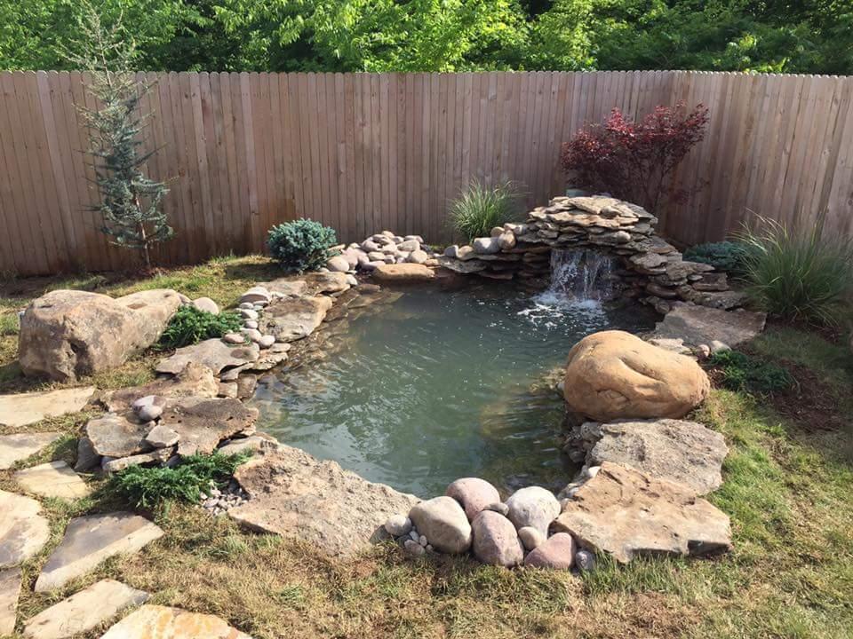 garden pond design ideas uk