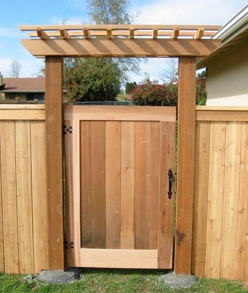 Top 7 Wooden Garden Gate Ideas