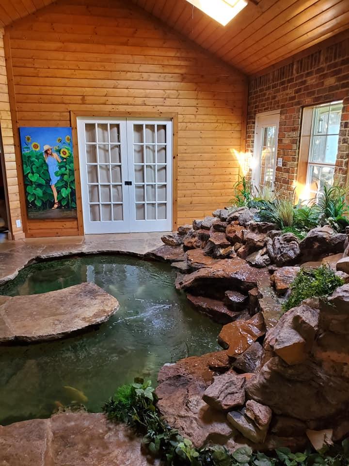 Indoor Pond Ideas
