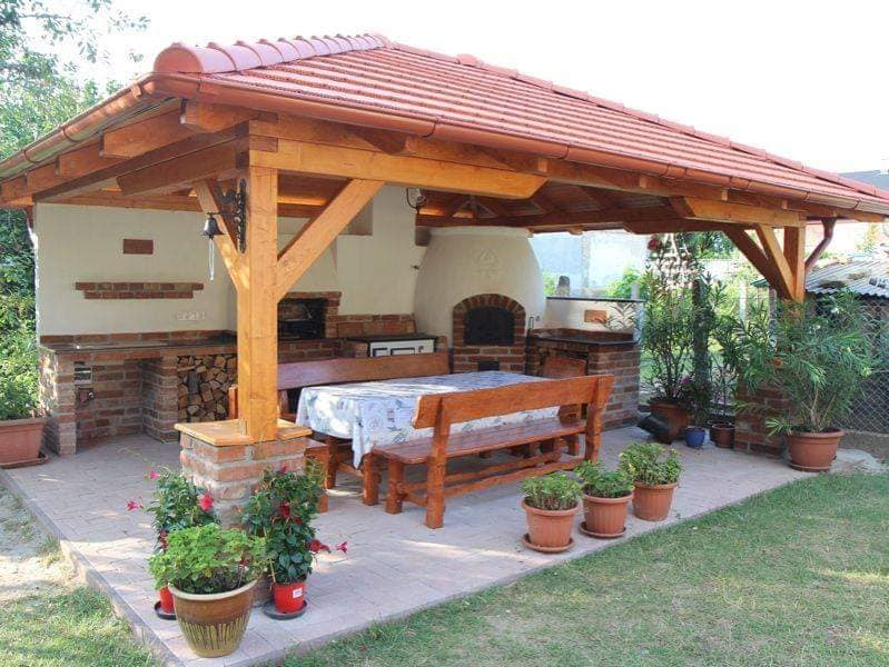Top 40 Ultimate BBQ Area Ideas - Small & Large Gardens
