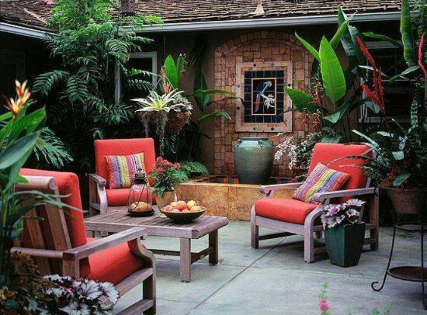 Garden Seating Area Ideas