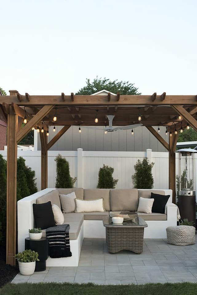 Patio & Decking Ideas (Small Gardens) on Backyard Deck Designs id=28327